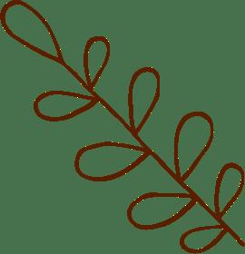 brown plant logo