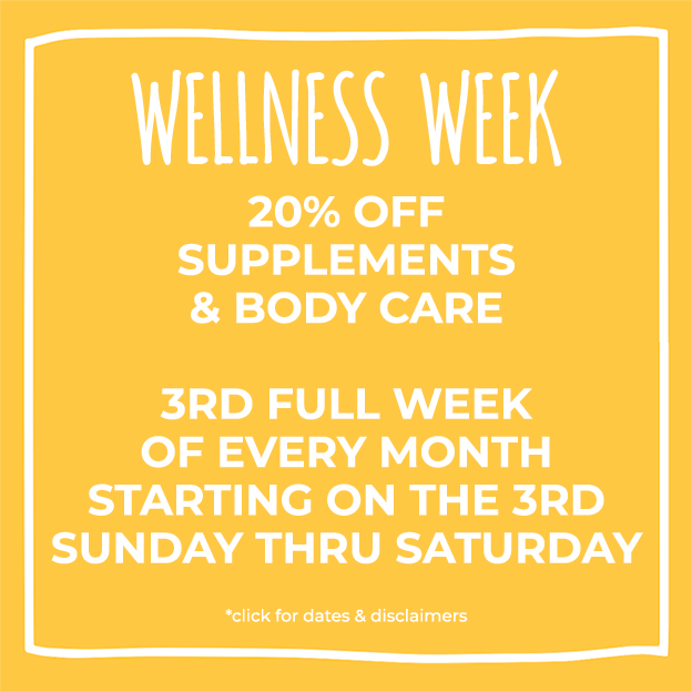 Wellness Week at Nature's Food Patch